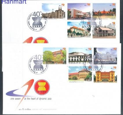 Znaczek Tajlandia 2007 Mi 2557-2566 FDC