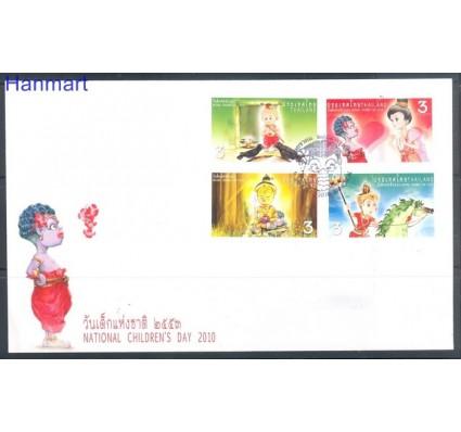 Znaczek Tajlandia 2010 Mi 2860-2863 FDC