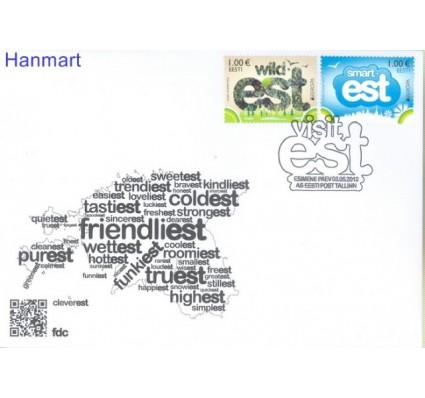 Znaczek Estonia 2012 Mi 733-734 FDC