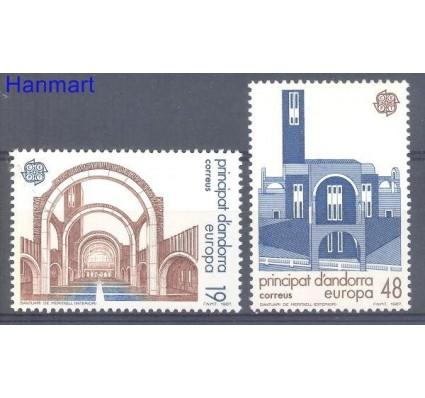 Znaczek Andora Hiszpańska 1987 Mi 193-194 Czyste **