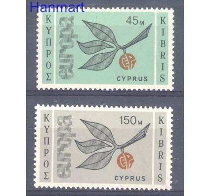 Znaczek Cypr  1965 Mi 259-260 Czyste **
