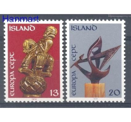 Znaczek Islandia 1974 Mi 489-490 Czyste **