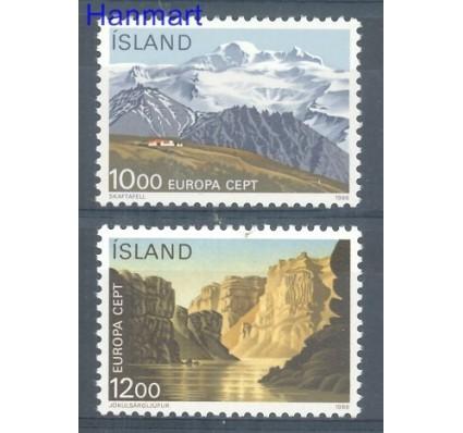 Islandia 1986 Mi 648-649 Czyste **