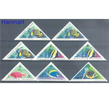 Znaczek Malediwy 1963 Mi 109-116 Czyste **