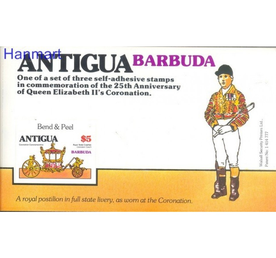 Barbuda 1978 Mi 413-415 Czyste **