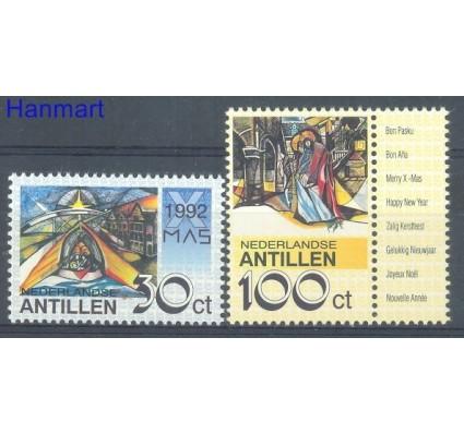 Znaczek Antyle Holenderskie 1992 Mi 766-767 Czyste **