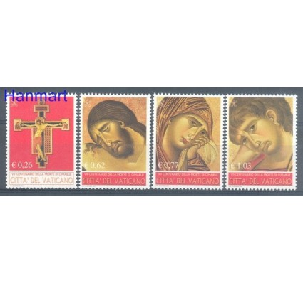 Watykan 2002 Mi 1417-1420 Czyste **