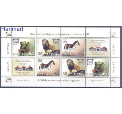 Łotwa 2012 Mi ark 831-833 Czyste **