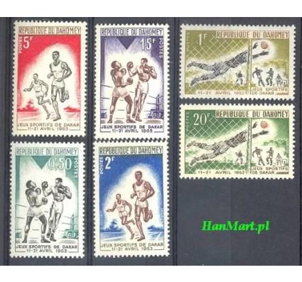 Znaczek Dahomej 1963 Mi 213-218 Czyste **