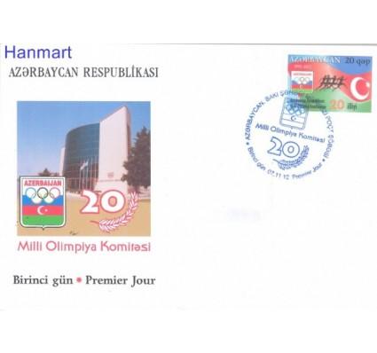 Znaczek Azerbejdżan 2012 Mi 963 FDC