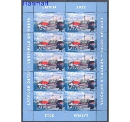 Znaczek Łotwa 2012 Mi ark 835 Czyste **