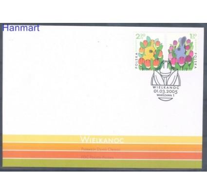 Znaczek Polska 2005 Mi 4171-4172 Fi 4021-4022 FDC