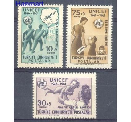 Znaczek Turcja 1961 Mi 1827-1829 Czyste **