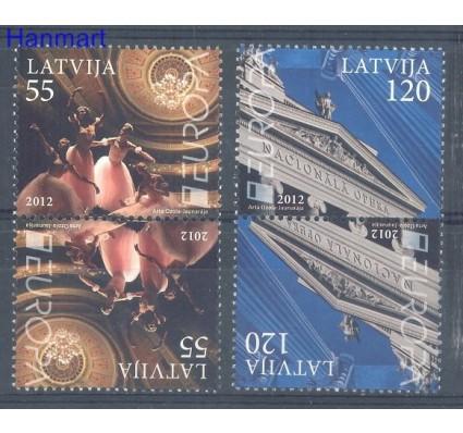 Znaczek Łotwa 2012 Mi 829-830 Czyste **