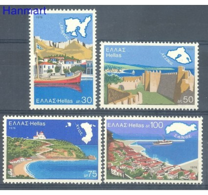 Znaczek Grecja 1976 Mi 1246-1249 Czyste **