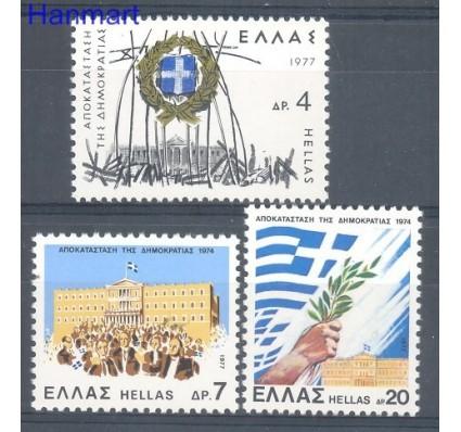 Znaczek Grecja 1977 Mi 1274-1276 Czyste **