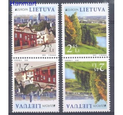 Znaczek Litwa 2012 Mi 1103-1104 Czyste **