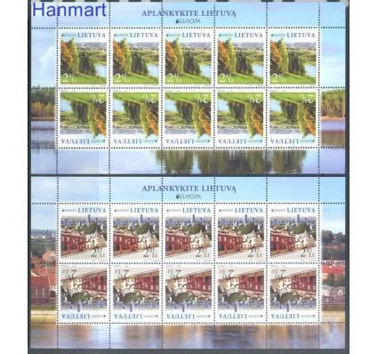 Znaczek Litwa 2012 Mi ark 1103-1104 Czyste **