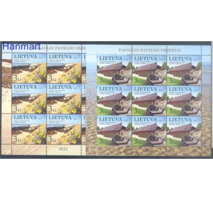 Znaczek Litwa 2012 Mi ark 1106-1107 Czyste **