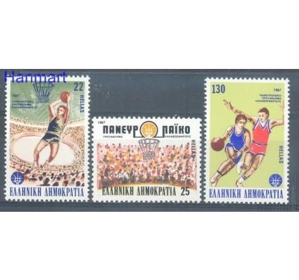 Grecja 1987 Mi 1653-1655 Czyste **