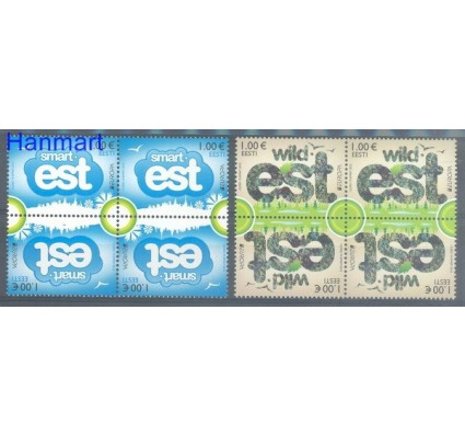 Znaczek Estonia 2012 Mi 733-734 Czyste **