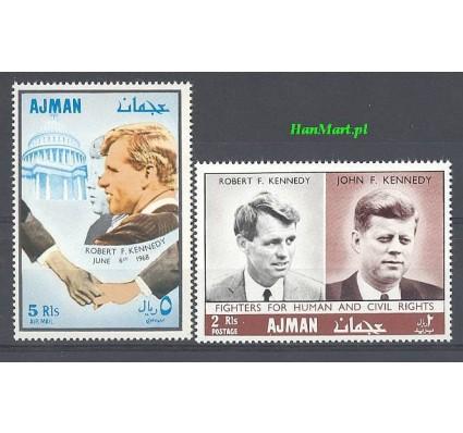 Ajman / Adżman 1968 Mi 299-300 Czyste **