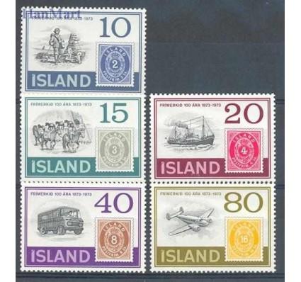 Znaczek Islandia 1973 Mi 473-477 Czyste **