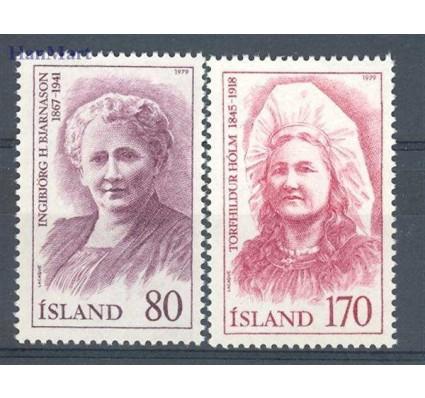 Islandia 1979 Mi 541-542 Czyste **