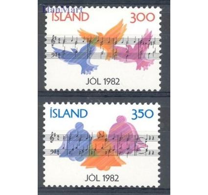 Znaczek Islandia 1982 Mi 590-591 Czyste **