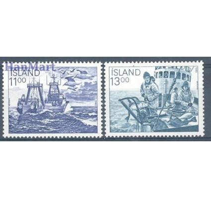 Znaczek Islandia 1983 Mi 600-601 Czyste **