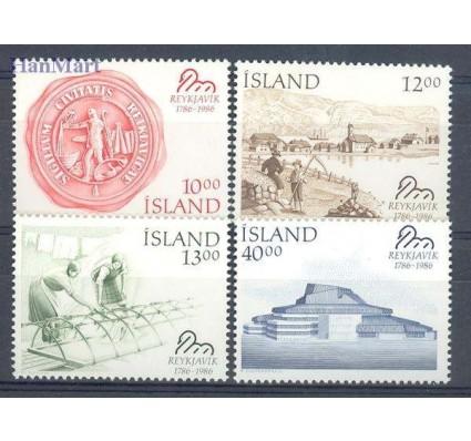 Znaczek Islandia 1986 Mi 654-657 Czyste **
