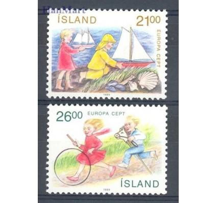 Znaczek Islandia 1989 Mi 701-702 Czyste **