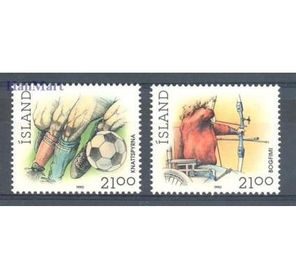 Znaczek Islandia 1990 Mi 728-729 Czyste **