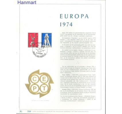 Znaczek Belgia 1974 Mi 1766-1767 Pierwszy dzień wydania