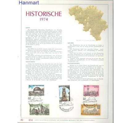 Znaczek Belgia 1974 Mi 1770-1774 Pierwszy dzień wydania