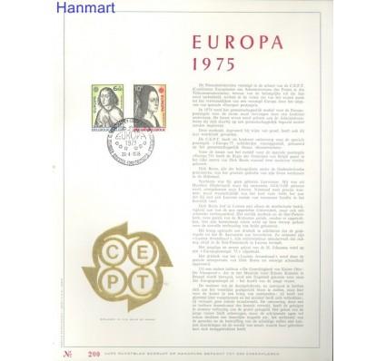 Belgia 1975 Mi 1818-1819 Pierwszy dzień wydania
