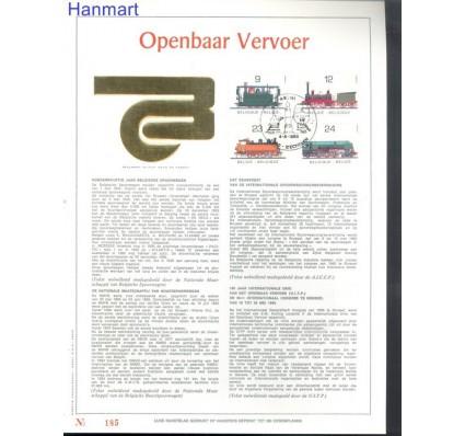 Znaczek Belgia 1985 Mi 2222-2225 Pierwszy dzień wydania