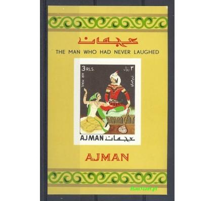 Znaczek Ajman / Adżman 1967 Mi bl 13B Czyste **
