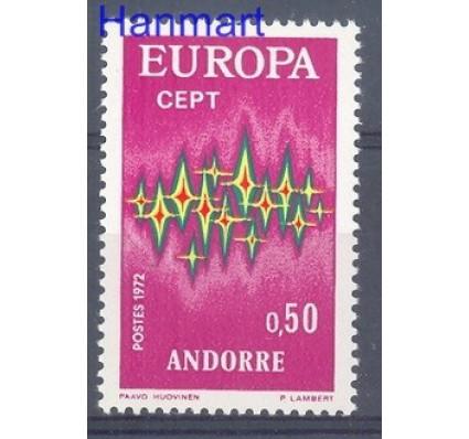 Znaczek Andora Francuska 1972 Mi 239 Czyste **