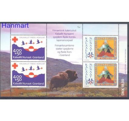 Znaczek Grenlandia 1993 Mi bl 4 Czyste **