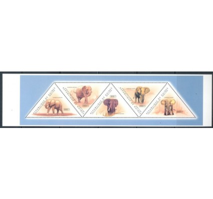 Znaczek Gwinea 2011 Mi 8686-8690 Czyste **