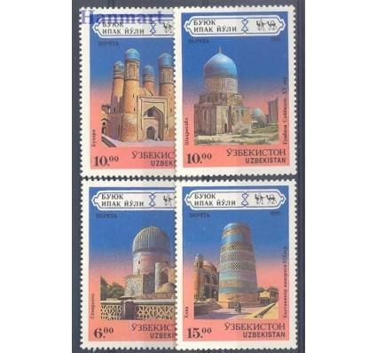 Uzbekistan 1995 Mi 71-74 Czyste **