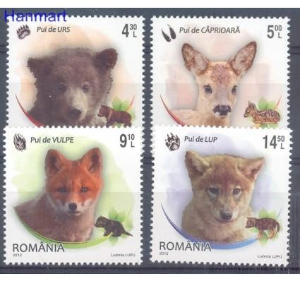 Znaczek Rumunia 2012 Mi 6663-6666 Czyste **