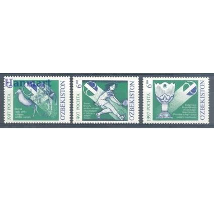 Znaczek Uzbekistan 1997 Mi 151-153 Czyste **