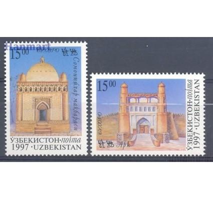 Znaczek Uzbekistan 1997 Mi 157-158 Czyste **
