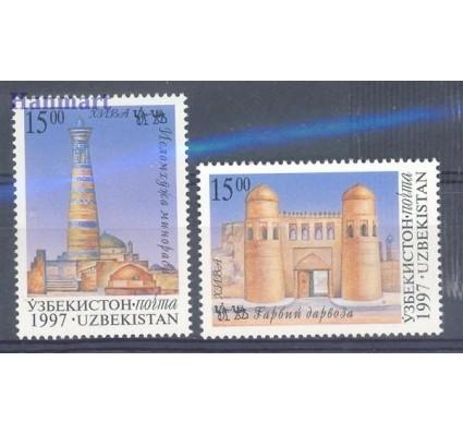 Znaczek Uzbekistan 1997 Mi 160-161 Czyste **