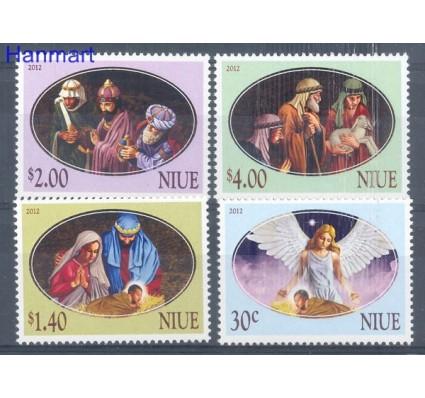 Niue 2012 Mi 1202-1205 Czyste **