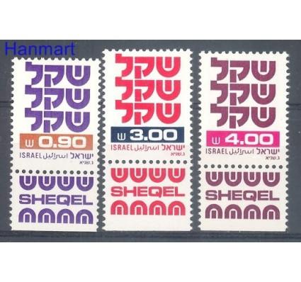 Znaczek Izrael 1981 Mi 861-863 Czyste **