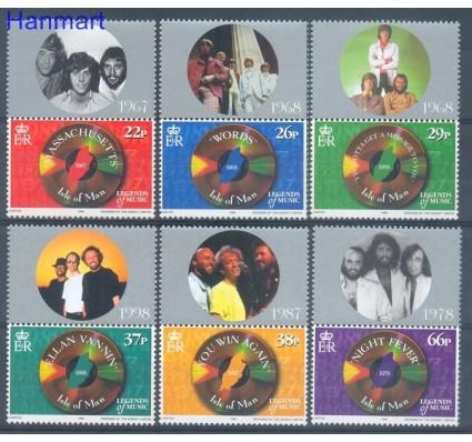 Znaczek Wyspa Man 1999 Mi zf 835-840 Czyste **