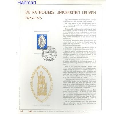 Belgia 1975 Mi 1835 Pierwszy dzień wydania